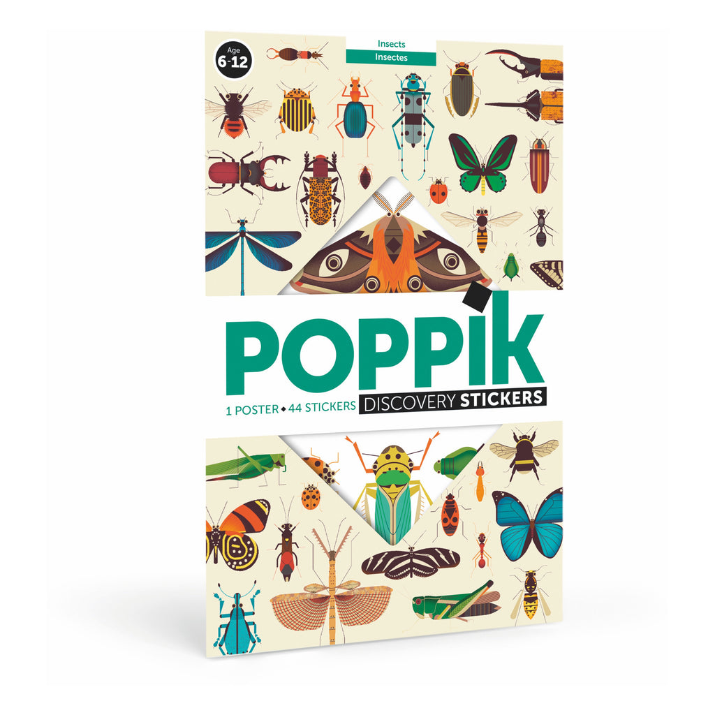 Poppik - Sticker Discovery Set - Insects