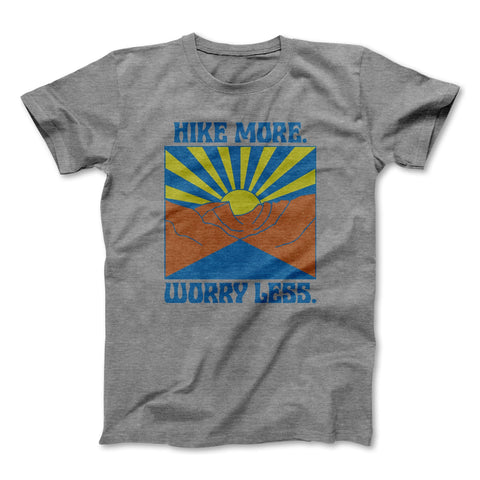 Rivet Apparel Co - Graphic Tee - Hike More Worry Less