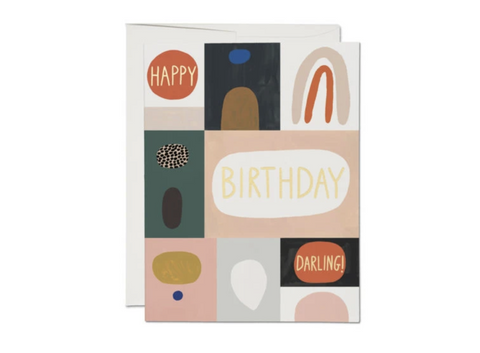 Red Cap Cards - Happy Birthday Darling