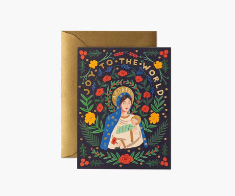 Rifle Paper Co - Madonna & Child Card