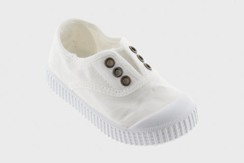 Victoria Shoes - Classic Laceless - Blanco