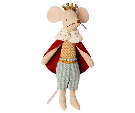 Maileg - Dad King Mouse - New