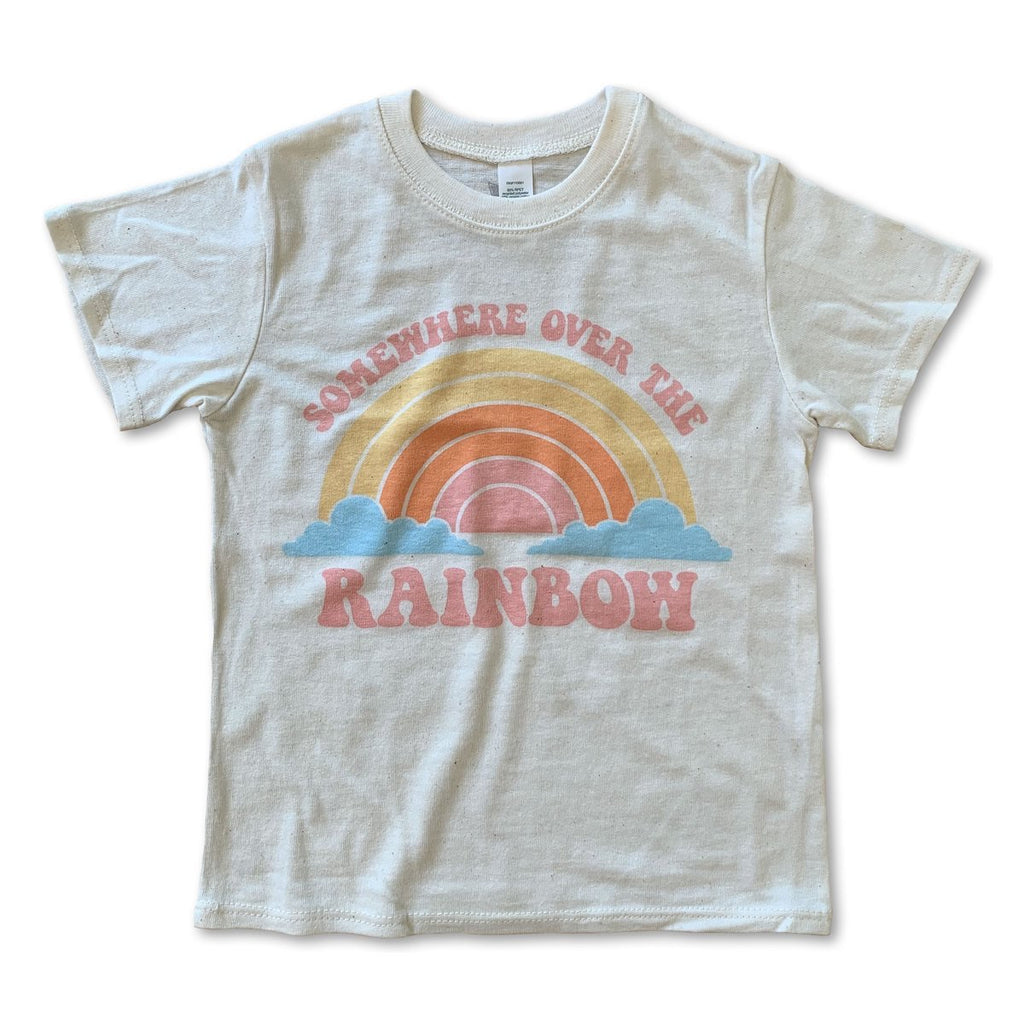Rivet Apparel Co. Graphic Tee - Somewhere Over the Rainbow