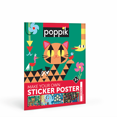 Poppik - Creative Stickers - Jungle