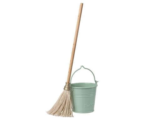 Maileg - Bucket and Mop