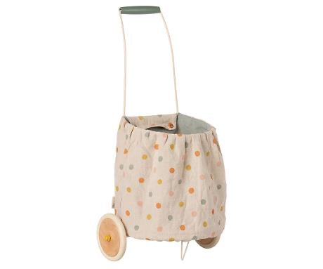 Maileg - Trolley - Multi Dots - Blue