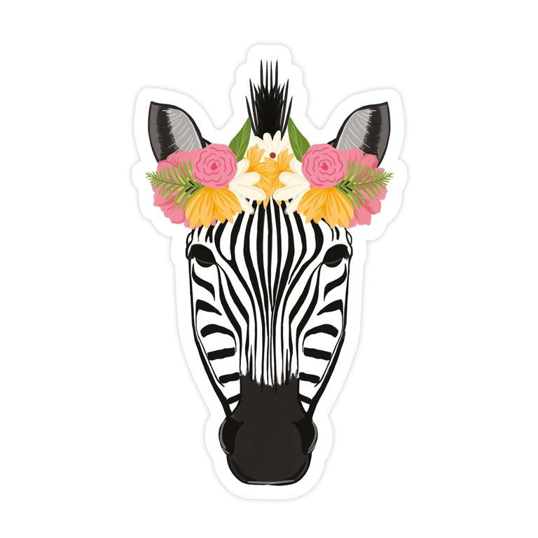 Bloomwolf Studio - Pretty Zebra Sticker