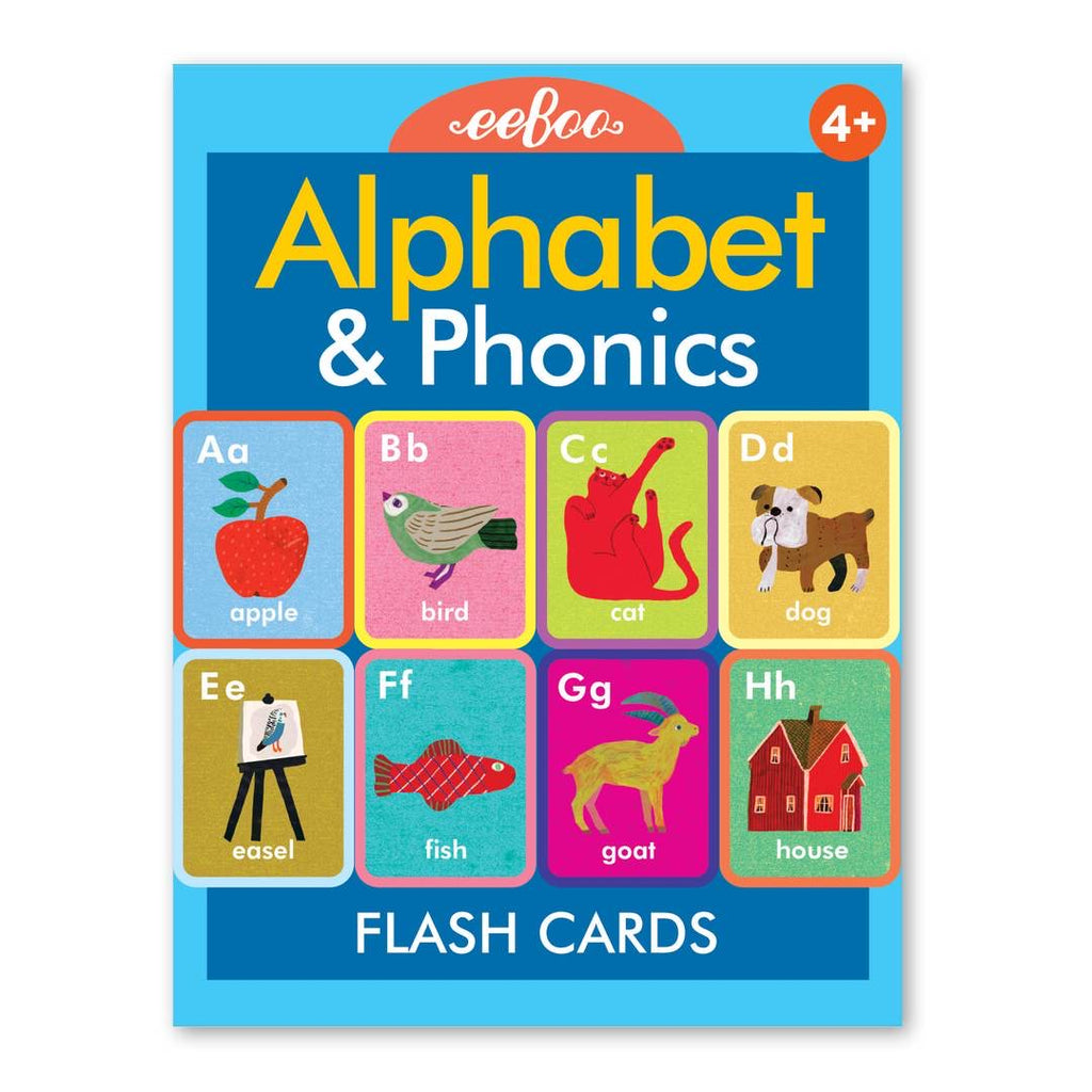 eeBoo - Alphabet and Phonics Flash Cards