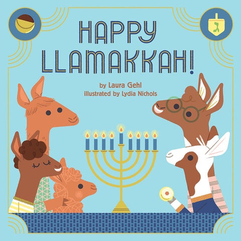 Happy Llamakkah! - Hardcover