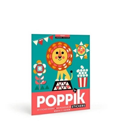 Poppik - Creative Stickers - Circus