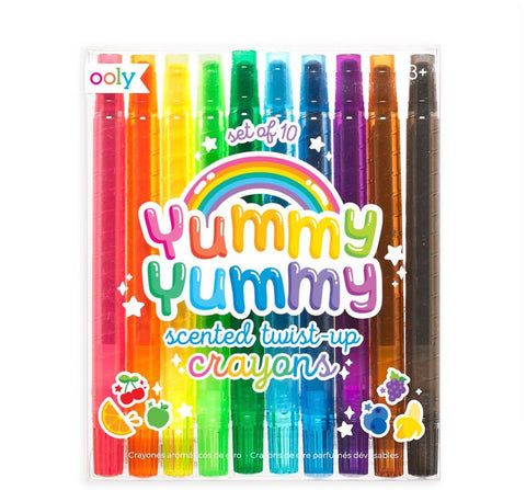 OOLY - Yummy Yummy Scented Twist Up Crayons