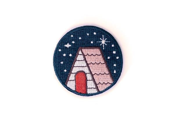 Ello There - Patch - Cabin Under The Stars - Sticky