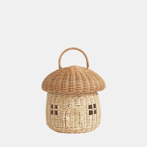 Olli Ella - Mushroom Basket Preorder Ships in December