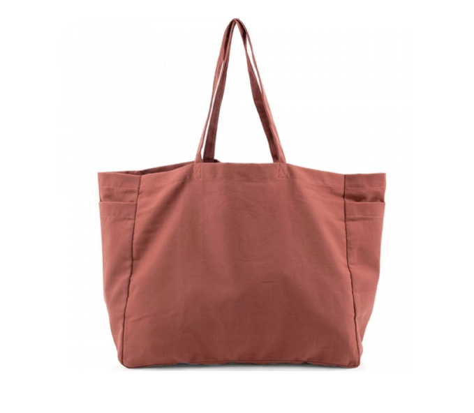 Monk & Anna - Ribbed Canvas - Brick Red
