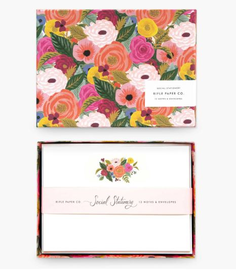 Rifle Paper Co. - Juliet Rose Social Stationery Set