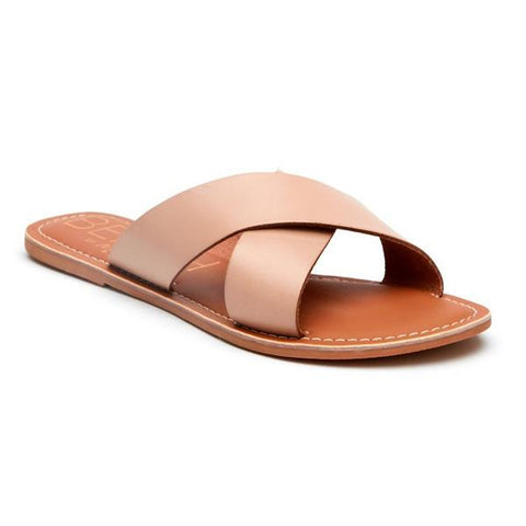 Matisse - Strappy Slide Sandal - Pebble Natural