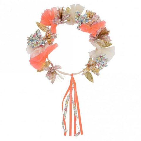Liberty of London Floral Fabric Floral Halo Crown