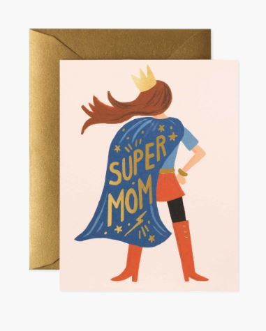Rifle Paper Co. - Super Mom Card