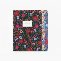 Rifle Paper Co. - Assorted Set of 3 Wild Rose Notebooks