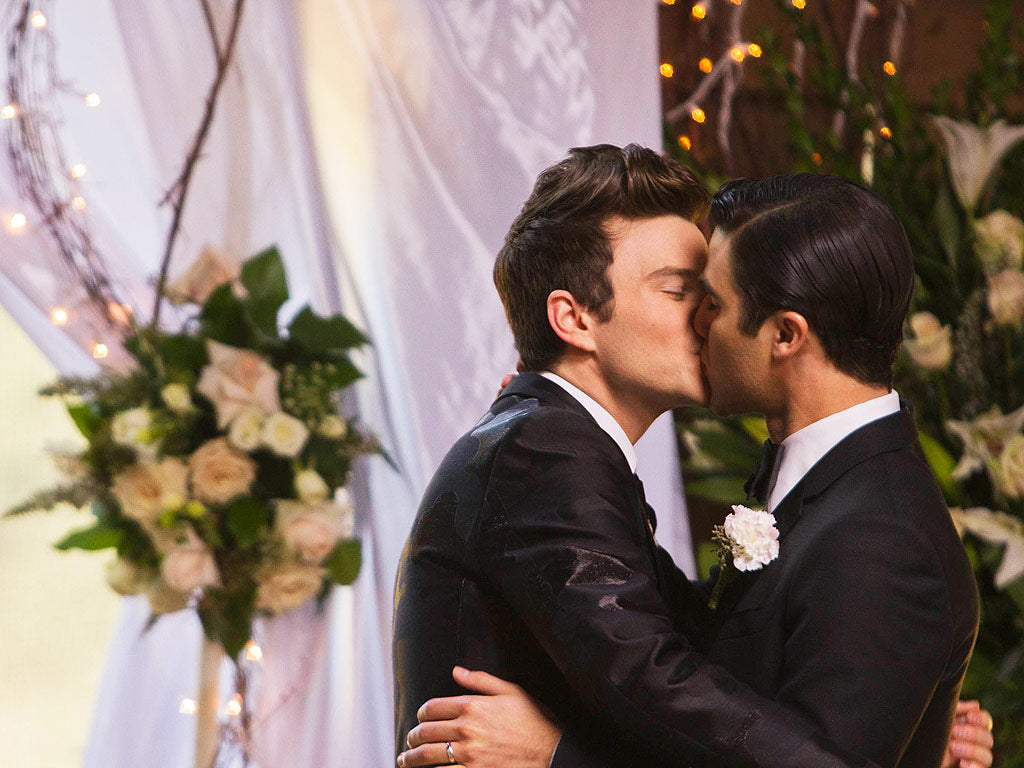 Gay Wedding Glee