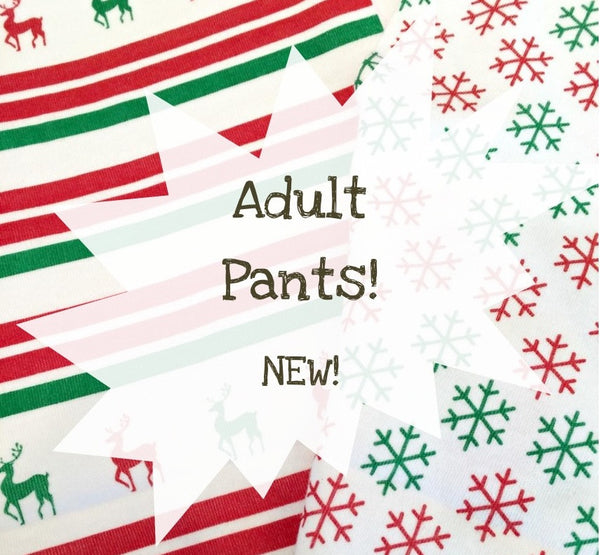 Adult Pajama Holiday Pants