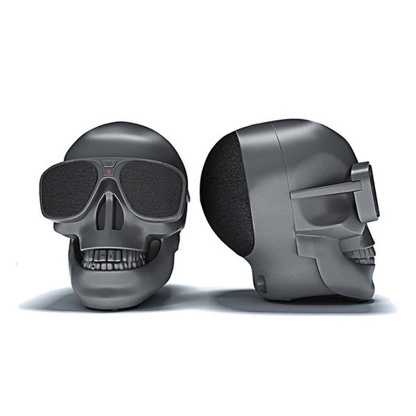 Sleek Skull Wireless Bluetooth Speaker