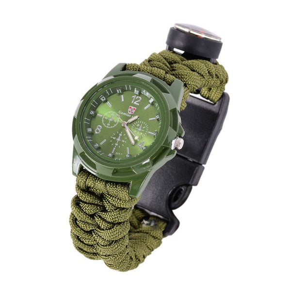 Military Buckled Wristwatch