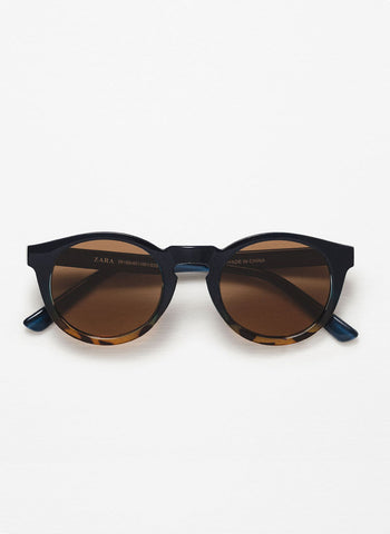Camouflage Print Sunglasses