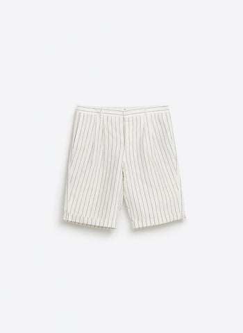 Stripes Plush Short