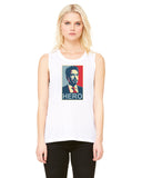 Tony Stark Hero - Womens Muscle Tank