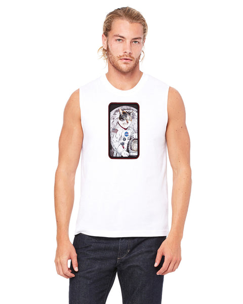 Astro Cat - Mens Muscle Tank