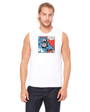 Captain America truth and justice - Mens Muscle Tank