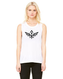 Crest of Hyrule - Womens Muscle Tank