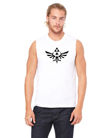 Crest of Hyrule - Mens Muscle Tank