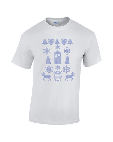 Doctor Who Christmas design