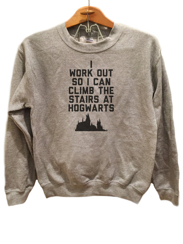 Training for the Stairs at Hogwarts - Sweater