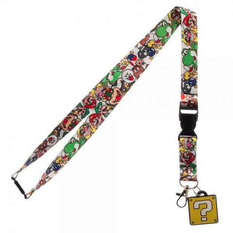 Nintendo Super Mario Bros. Question Block Lanyard