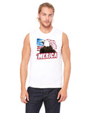 Merica Eagle - Mens Muscle Tank