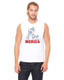 Merica Liberty - Mens Muscle Tank