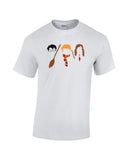 Harry Potter Ron Hermione vector shirt