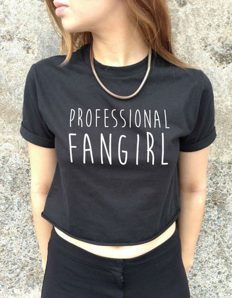 Crop Top PROFESSIONAL FANGIRL - One size