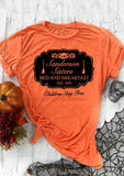Sanderson Sisters Bed and Breakfast - Halloween shirt