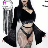 Elvira top - Halloween