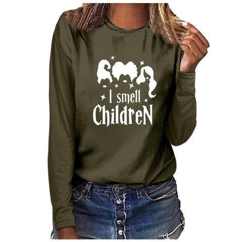 Hocus Pocus - I smell Children Long sleeve
