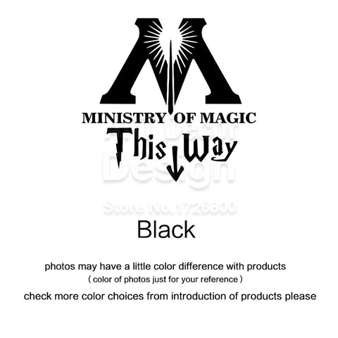 Ministry Of Magic Bathroom Decal