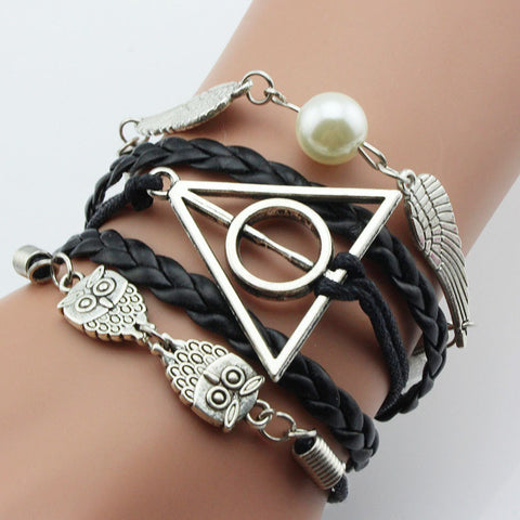 Harry Potter Deathly Hallows bracelet