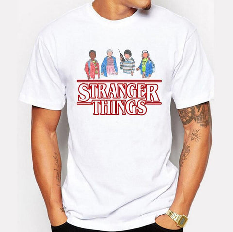 Stranger Things T Shirt Men Tee
