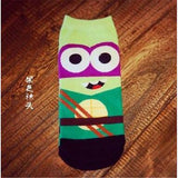 Minions Marvel DC Comics Ankle Socks