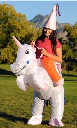 Adult Inflatable Unicorn Costume