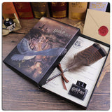 Harry Potter And The Cursed Child Feather Quill Pen Set